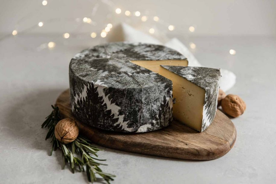 How to show Cornish Yarg off on a Christmas cheeseboard